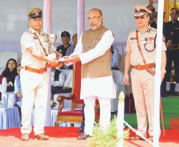 128th Manipur Police raising dayCM reiterates commitment to territorial integrity
