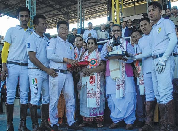 35th N Hazari and Dr N Tombi State Polo X Polo Club drub MPSC-B 5-1 to become champions - The Sangai Express