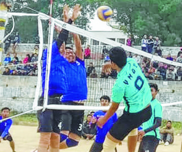 Pu Demkhosiek Memorial Volleyball;YPA, RC ease to second group stage victories