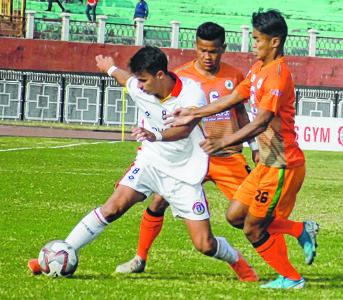 I-League 2019-20;NEROCA FC go down 1-4 to East Bengal