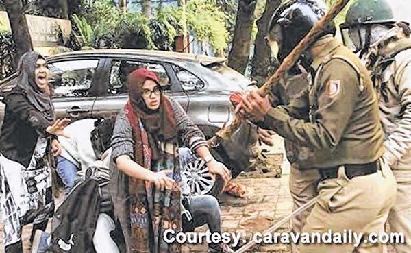 Police crackdown on JMI P