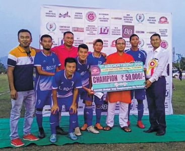 Meira FC emerge champions of MAICHON Trophy Soccer tourney