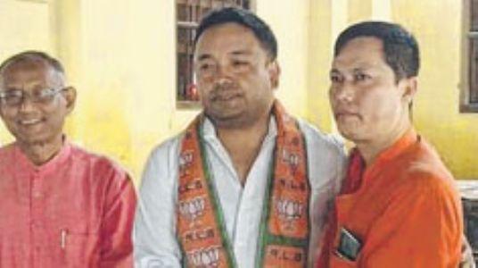 Ex-UCM president joins BJP