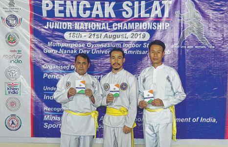 Manipur fetch 3 gold at Jr Pencak Silat Nationals
