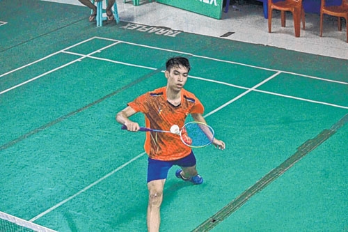 38th Inter Dist and 64th State Level Badminton C'ship: Daina