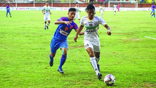 I-League 2019-20;TRAU FC beat Indian Arrows 2-0