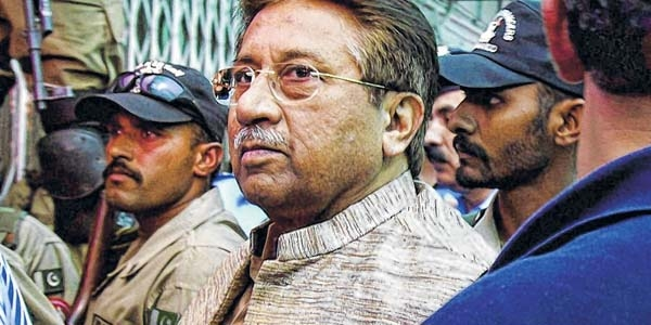 Musharraf's plea against