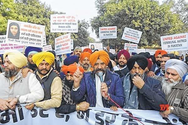 Protests erupt in Delhi a