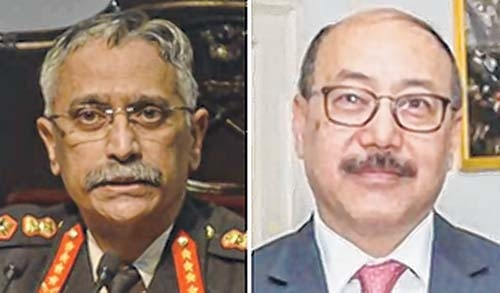 Army chief, Foreign Secy