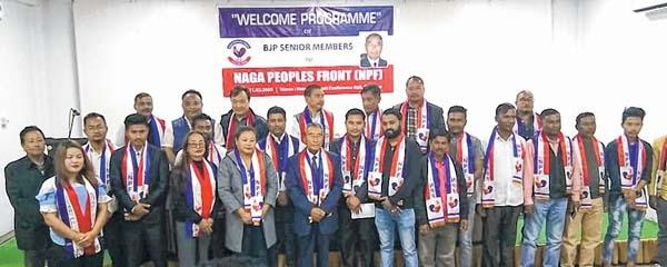 BJP leaders join Naga Peo