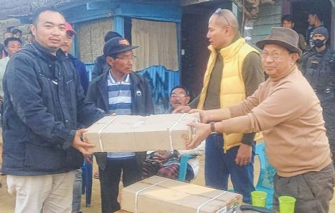MLA studies power situation at border villages