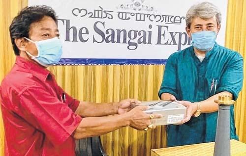 Nishikant donates PA syst
