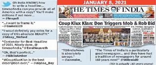 ToI headline becomes onli
