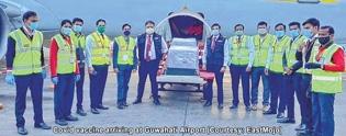 Covid vaccine flights beg