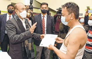 CM launches COVID inocula