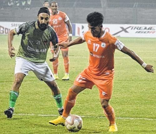 Gokulam Kerala FC steam p