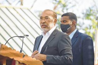 CM N Biren launches 'Scho