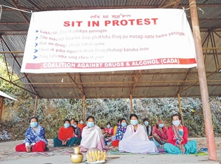 Sit-in protest continues_