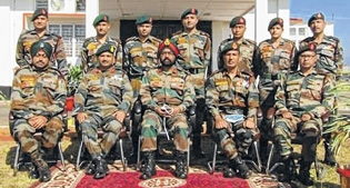 Addl DG AR visits troops_