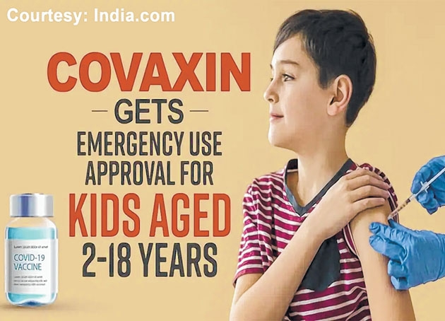 Covaxin gets approval for