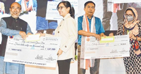 StartUp Manipur Over Rs 114 Cr provided to beneficiaries : CM