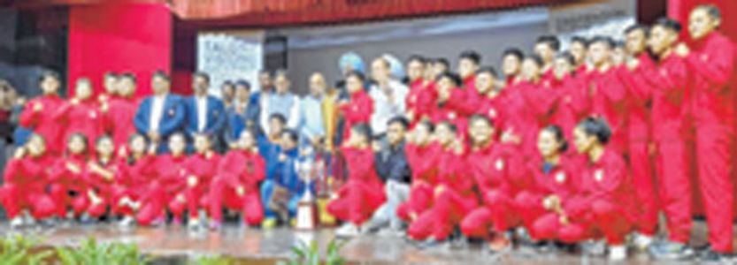 Junior National Wushu ChampionshipManipur emerge overall team champions with 72 medals