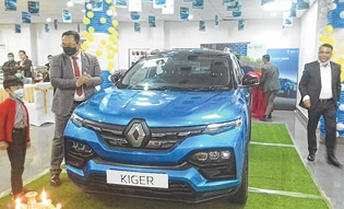 Renault 'Kiger' launched