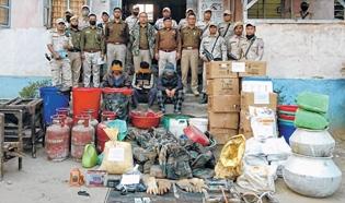 CCpur cops bust brown sug