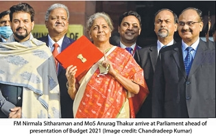 FM Nirmala Sitharaman and