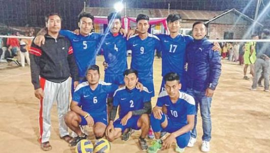 TRYVC cruise to H Ibembi and Mixture Memorial volleyball title