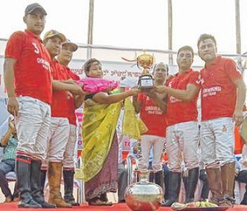 Chingkheihunba PC-A beat X-Polo Club 4-1 to win IE Polo Tournament title