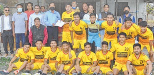 YWU emerge champions of 18th KK Memorial 1st Divn Football League