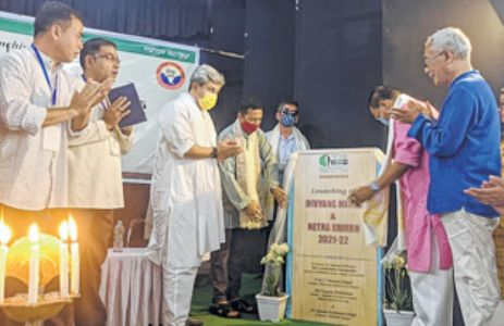Divyang Mitra and Netra KumbhNishikant donates eyes