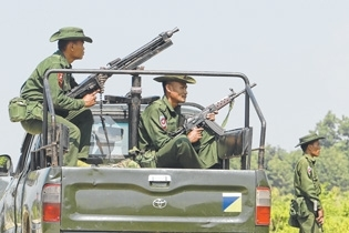 Myanmar military using NE