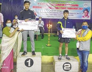 Bikram wins men's singles