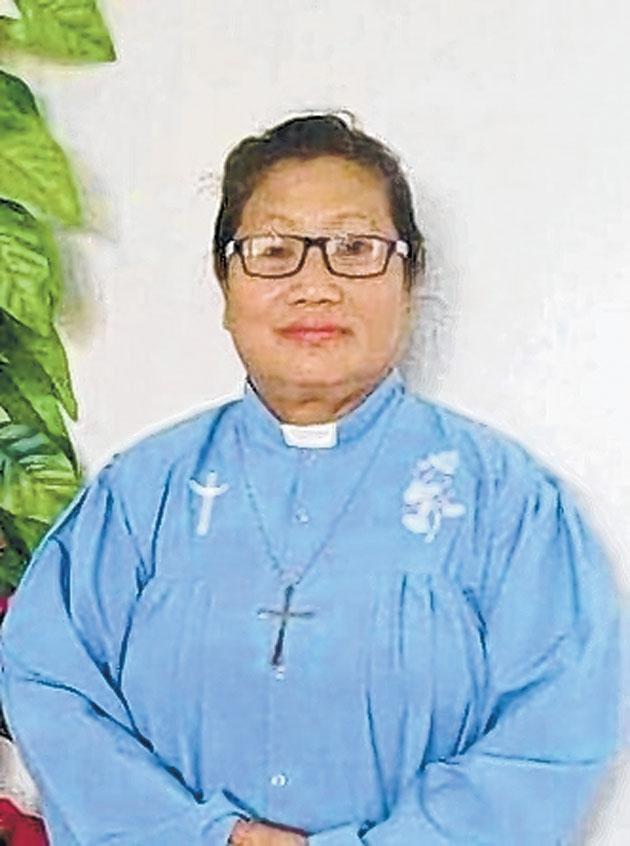 Reverend Kim Vaiphei Haok