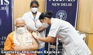 PM Modi takes second jab