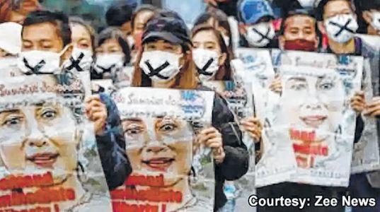 Myanmar Junta bans satellite TV, restricts internet, media