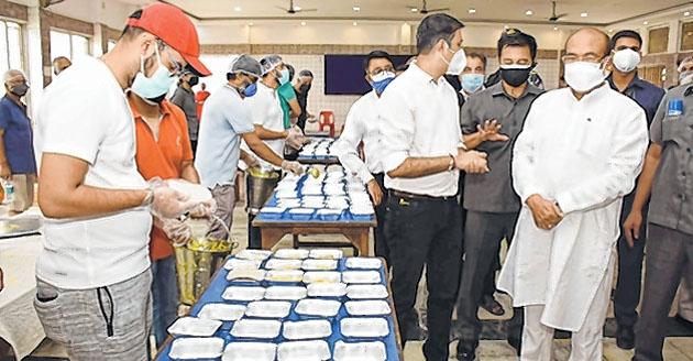 CM notes meals arranged b
