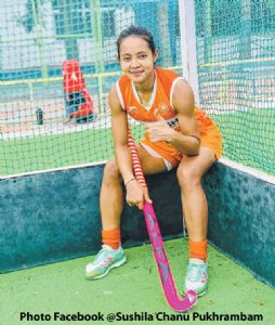 Sushila Chanu among 16-member women's hockey squad for Tokyo Olympics