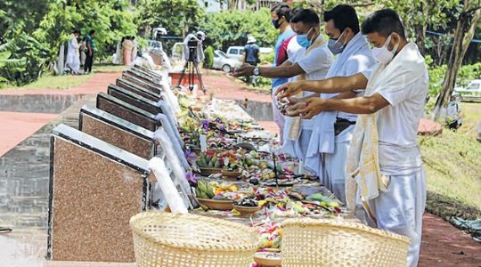 Despite Covid restrictions fitting tributes paid to Jun 18 martyrs