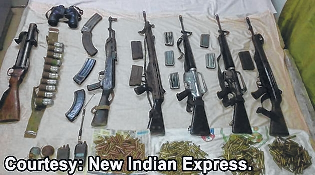 Arms bound for Myanmar se