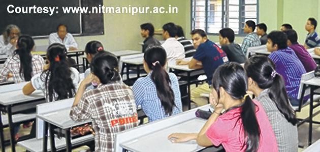 Campus recruitment at NIT