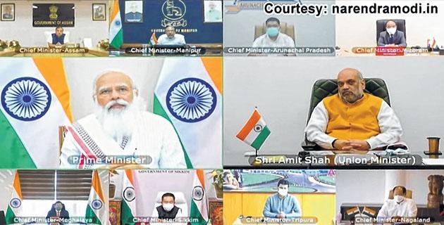PM asks NE CMs to control