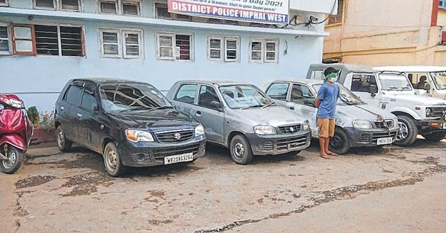 Vehicle lifter gang buste