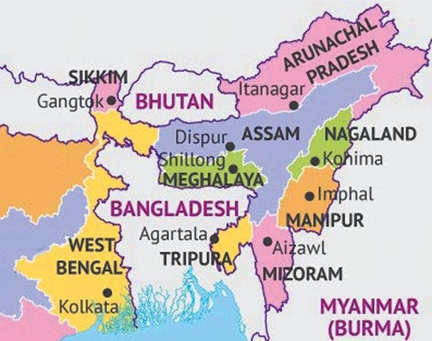 Map of NE_1H