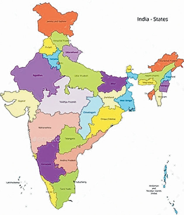Map of india_1
